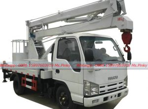 Chiese Hubei ISUZU Overhead Working Vehicles