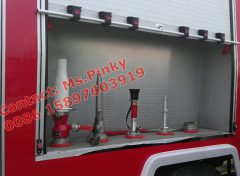 ISUZU Fire Fighting Truck Equip different Spraying Monitor to  satisfy different Put off fire requirement.