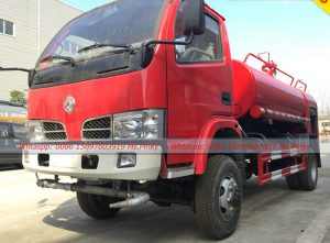4WD All Wheel Drive Fire Truck With Water Tank
