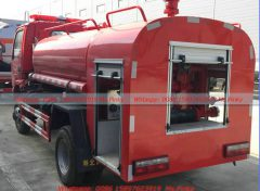 Hubei Suizhou All Wheel Driv Water Fire Trucks 4WD (4)
