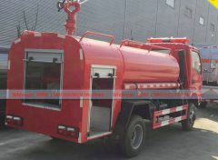 Hubei Suizhou All Wheel Driv Water Fire Trucks 4WD (5)