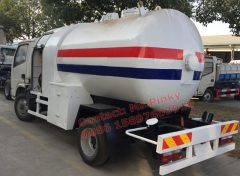ISUZU Truck With Mobile LPG Filling Station