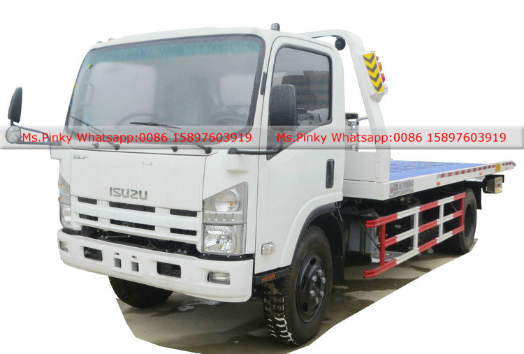 Flatbed Tow Truck >> 190HP ISUZU Towing Trucks flatbed Wrecker Vehicles Manufacturers,Suppliers,Factory,Wholesale ...