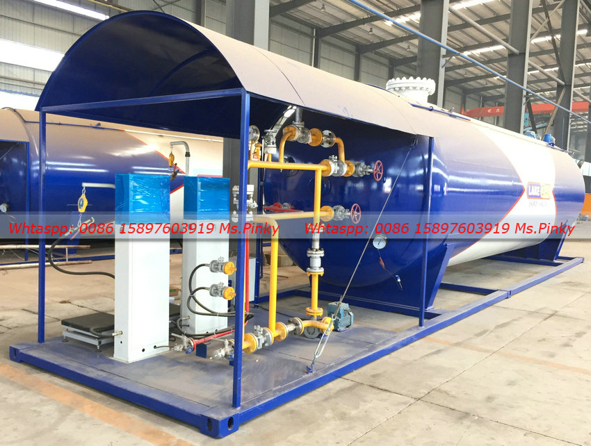 30000liters Automatic Gas Station Lpg Gas Cylinder Filling