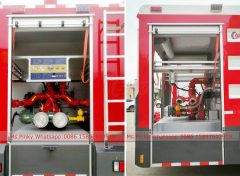 Fire Engine ISUZU Pump system