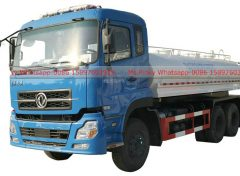 Stainless steel water tank truck for drinking water 001