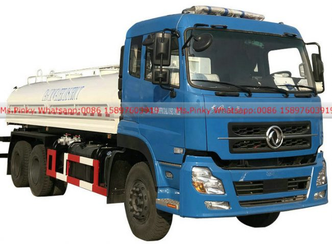 Stainless steel water tank truck for drinking water 002
