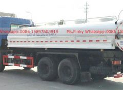 Stainless steel water tank truck for drinking water 003