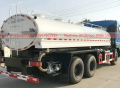 Stainless steel water tank truck for drinking water 004