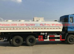 Stainless steel water tank truck for drinking water 005