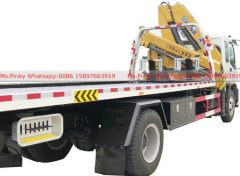 ISUZU Wrecker Truck with Crane