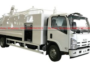 ISUZU Highr Pressure Cleaning Truck