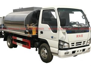 ISUZU Bitument spreader truck