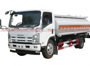 ISUZU ELF Fuel Truck