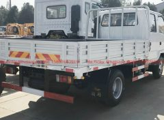 ISUZU Double Cabin Low Cargo Truck