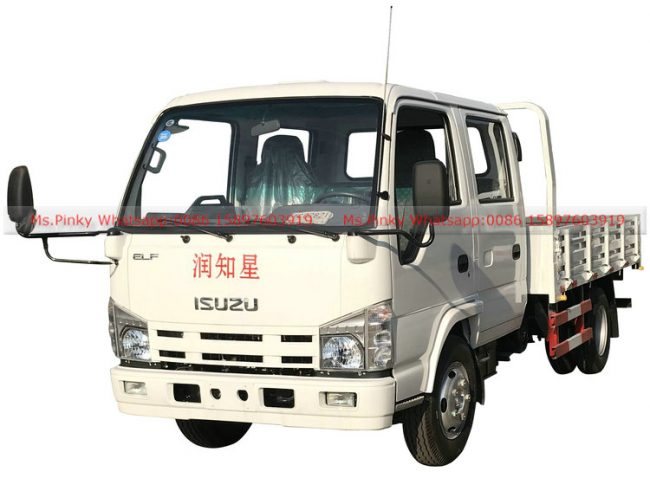 ISUZU Double Small Flatbed Truck