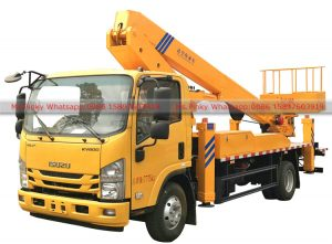 25m ISUZU Telescopic boom Aerial Working Truck