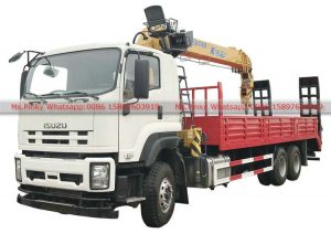 ISUZU Truck Mounted With Crane